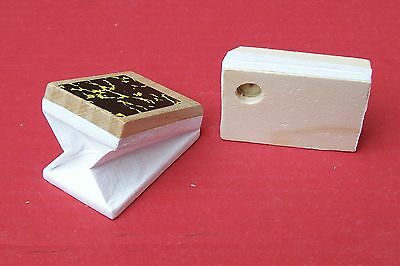 Bellow tops,   new replacement for cuckoo clocks,   33 mm wide  x  50 mm long.