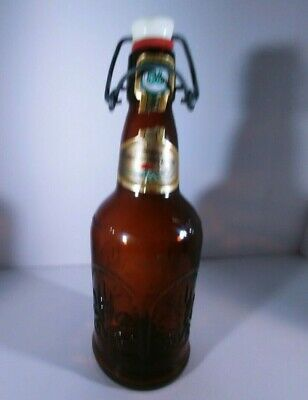 Cerveza Conmemorativa Beer Bottle Swing top Porcelain Stopper With Rubber seal