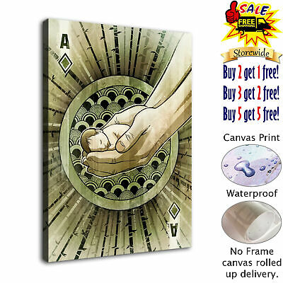 """12""""x16""""Playing Cards HD Canvas prints Painting Home decor Picture  Wall art"""