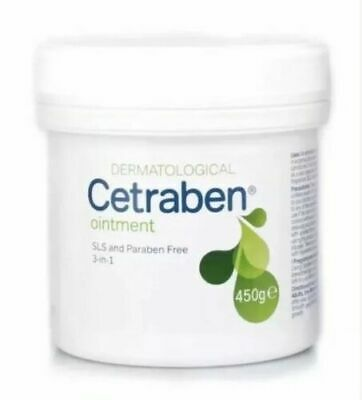 Cetraben Ointment 450g Moisturises,Soothes Dry Skin,Treats Eczema,Dermatitis