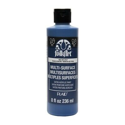 FolkArt Multi-Surface Satin Acrylic Paints - Ink Spot, 2 oz
