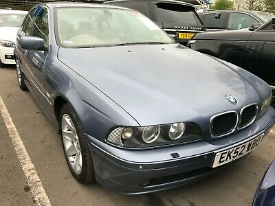 52 Bmw 530I 3.0 Se Saloon Auto - Nav, Leather, 10 Stamps, Was Running Now Not