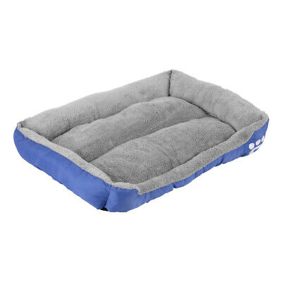 Dog Bed Soft Pet Sofa Cats Pad Non Slip Bottom Self Warming Breathable K8Y1