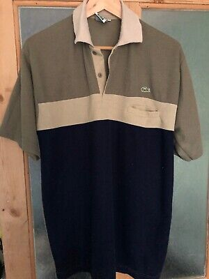 Vintage Lacoste Polo Shirt Xl