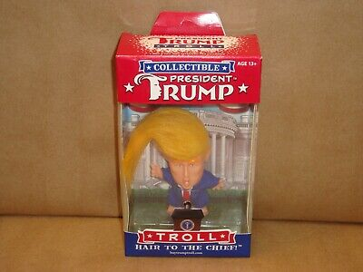 """2017 New Collectible President Trump Troll """"Hair To The Chief"""""""