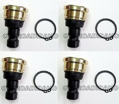 2 UPPER or LOWER A-ARM BALL JOINT KITS POLARIS RZR XP 1000 4 14-16 TURBO 4X4 4WD