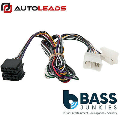 amplifier by-pass iso car stereo harness adaptor lead for lexus gs300  1998-2003