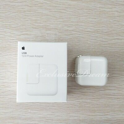 Apple iPad Charger Original Genuine 12W USB Power Adapter Wall Air Mini 2 3 OEM