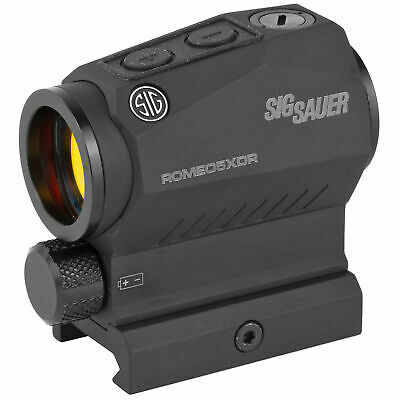 Sig Sauer ROMEO5 XDR Compact Sized Closed Red Dot Sight 1x20mm 2 MOA SOR52102