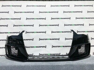 Audi Rs3 8V 2013-2015 Front Bumper In Black With Grills Genuine [A13]