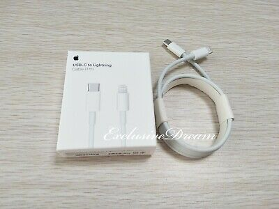 Genuine Apple USB-C to Lightning Cable Original (1m) MK0X2AM/A Model 1656 - NEW
