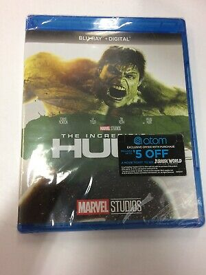 Incredible Hulk - Blu-Ray+ Digital New