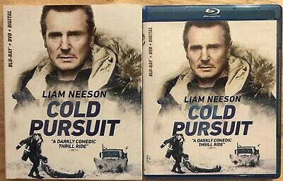 Cold Pursuit Blu Ray + Dvd With Slipcover Sleeve Free Shipping Liam Neeson