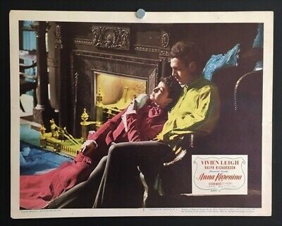 Movie Memorabilia 1940 Color Original Lobby Card Vivien Leigh And Robert Taylor Waterloo Bridge Nr Originals-united States