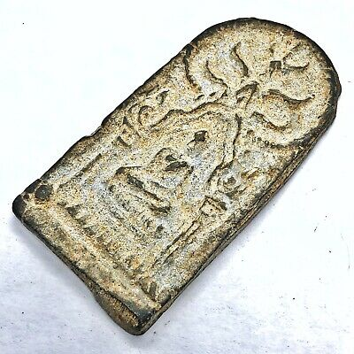Thailand Siam Asian Buddhist Artifact Monks Amulet Antique Old Talisman Temple B