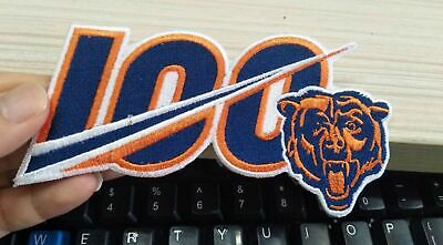 Chicago Bears 2019 100th ANNIVERSARY SEASON NFL JERSEY PATCH IRON ON