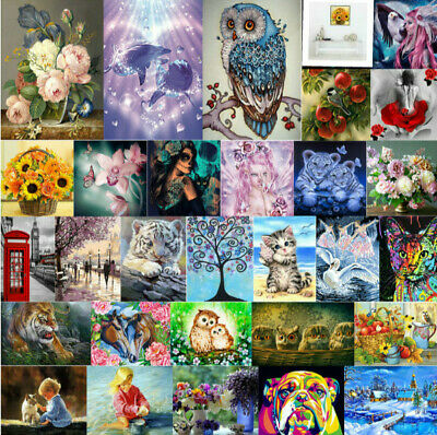 5D Diamond Painting Embroidery Cross Crafts Stitch Kits Home Art Decor DIY Gifts