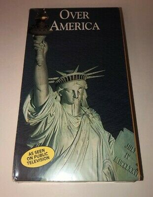 FACTORY SEALED OVER AMERICA VHS Tape ***Brand New**