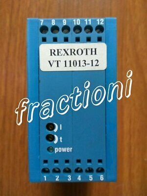 Used Rexroth Amplifier VT11013-12, 2-Year Warranty !