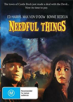 Needful Things - Stephen King - New & Sealed Dvd - Free Local Post