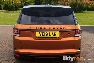 Ve19 Lar Range Rover Velar Cherished Plate  Ve19Lar Private Number Registration