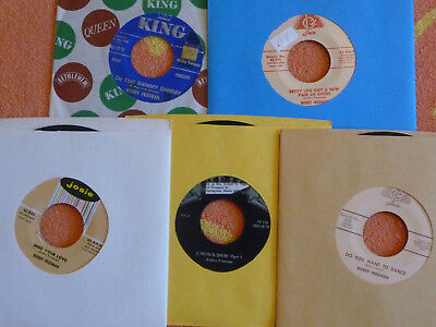 Lot of 5 BOBBY FREEMAN 45 rpm Singles Do You Want To Dance/Need Your Love