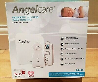 Angelcare AC403 Baby Movement Monitor, with Sound Brand New