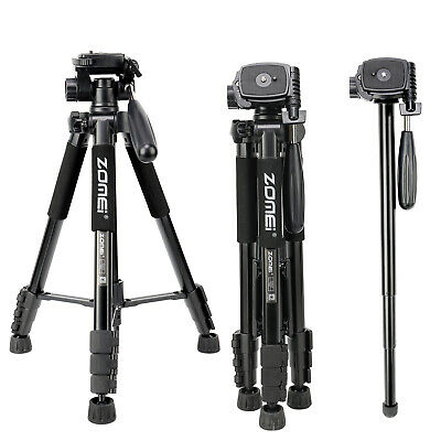 ZOMEI Q222 Camera Tripod Monopod Lightweight for Canon Sony Nikon DSLR UK Seller