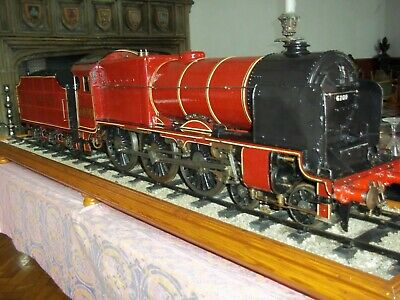 "LIVE STEAM LOCOMOTIVE 3.5""--""ROYAL SCOT""-from collection-to recommission-"