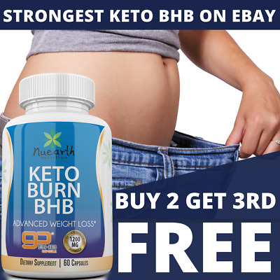 KETO BURN BHB - ADVANCED WEIGHT LOSS - Keto Salts, Ketosis/Keto Diet/Weight loss