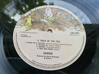 GENESIS A TRICK OF THE TAIL 1976 A//3 UK Press IMMACULATE  MINT- COPY