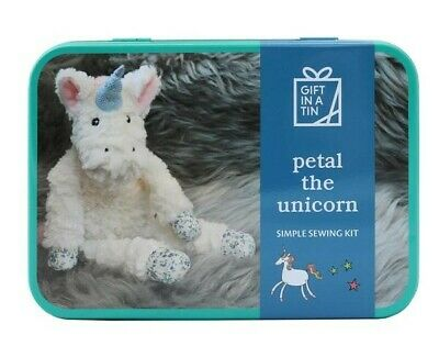 Petal Unicorn in a Tin Craft kit. Makes a great gift for both adults and kids.