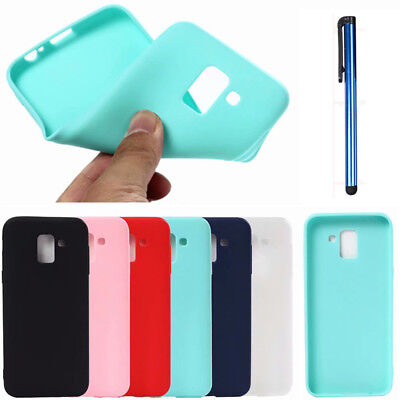 For Samsung Galaxy A3/5/7/8 J4/6/7/8 Note 8 9 S9 Soft TPU Silicone Case Cover