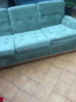 Ercol vintage three seater sofa and one armchair