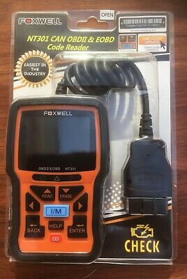 Foxwell NT301 EOBD OBDII OBD2 Diagnostic Scan Tool Code Reader. New