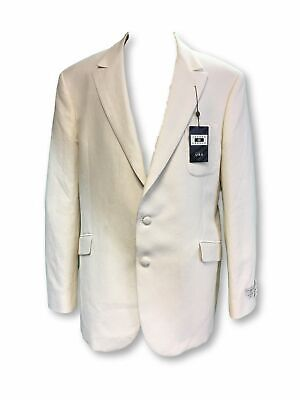 Joseph Aboud fully structured slim fit jacket in ivory pique 48R rrp £761.00