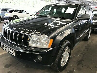 2007 Jeep Grand Cherokee 3.0 Crd Limited - Satnav, Leather, Climate, 8 Stamps
