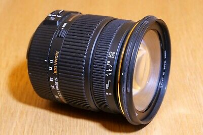 Sigma Zoom 17-50mm f2.8 EX DC OS HSM canon mount lens