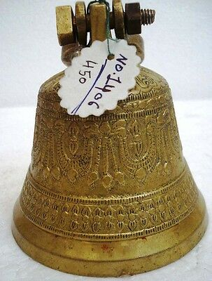 BRASS Bell - Marine / Religion / Spiritual - Height: 5.50 - Weight: 0.63 (1406)