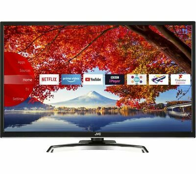"JVC LT-32C790 32"" Smart Full HD 1080p LED TV Netflix, WiFi, Freeview Play, Apps"