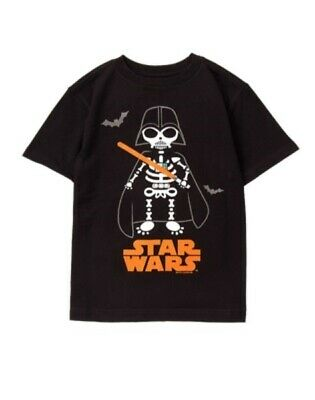 Gymboree Gymfriends Star Wars Darth Vader Skeleton L/s Tee 2T 3T Nwt