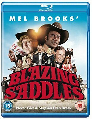 Blazing Saddles - 40th Anniversary Edition [Blu-ray] [1974] [Region Free] [DVD]
