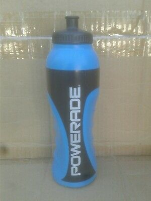688463560d 2010 Powerade 32 oz Sports Water Bottle with Squeeze Cap BLUE FREE SHIP VGC