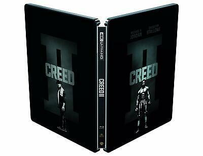 Creed 2 Steelbook  Blu Ray 4K Ultra Hd + Blu Ray Neuf Sous Cellophane