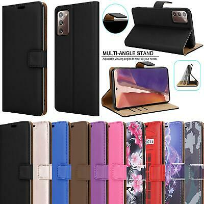 For Samsung Galaxy S20 Plus Ultra A51 A71 A10 A20e A40 Leather Wallet Phone Case