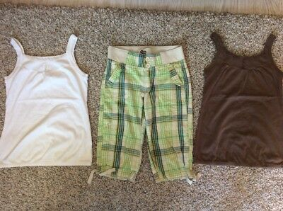 2 So Tank Top/ Vest Tops & Shorts Set Size M (10-12 years)