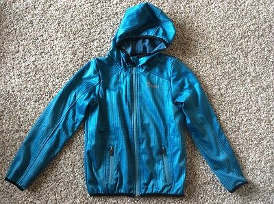 Girl's Crivit Outdoor Blue Showerproof Jacket Size 8-10 Years