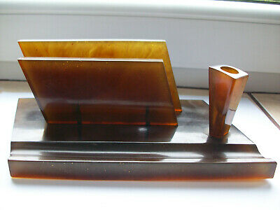 Low Price Vintage Velos Bakelite Desk Damper Wet Sponge Holder pl4625 Free Shipping