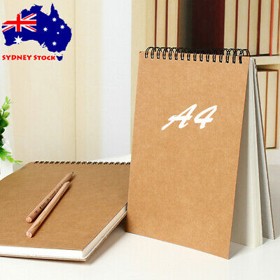 A4 Sketching Pad 120gsm 30 Sheets Artist Drawing Painting Art Paper Sketch Book