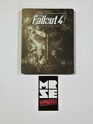 Fallout 4 Steelbook / Case Only from Pip-Boy Collector Edition No Game